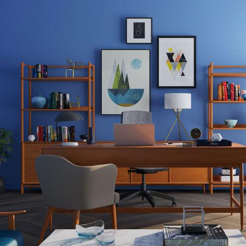 Ergonomischer Sitzplatz im Home-Office